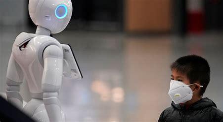 Résultat d'images pour Robots covid